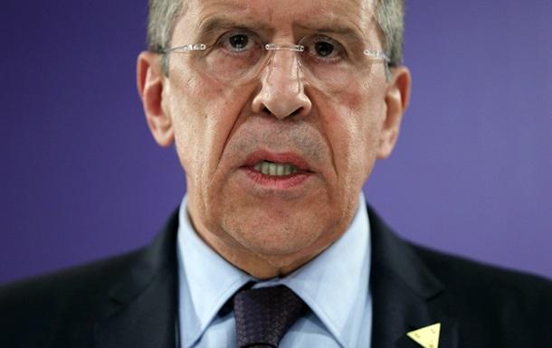 Лавров о Южном потоке: Евросоюз хочет наказать Россию