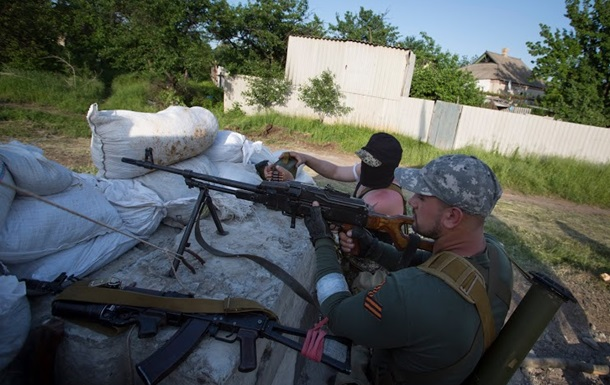 В Харьковской области обстреляли колонну украинской военной техники