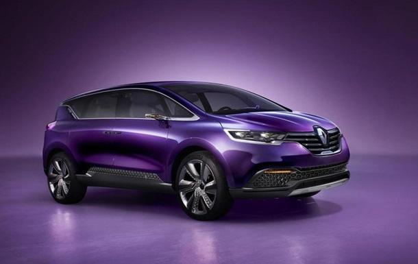 Renault представит первую модель премиум-класса осенью