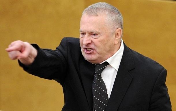 Жириновский с трибуны Госдумы РФ предложил открыть границу с Украиной для чеченцев и казаков