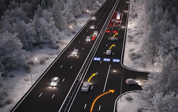 Дизайнеры разработали концепт интерактивной дороги, дающей подсказки водителю