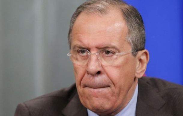 Россия пока не ставит вопрос о введении в Украину миротворцев - Лавров