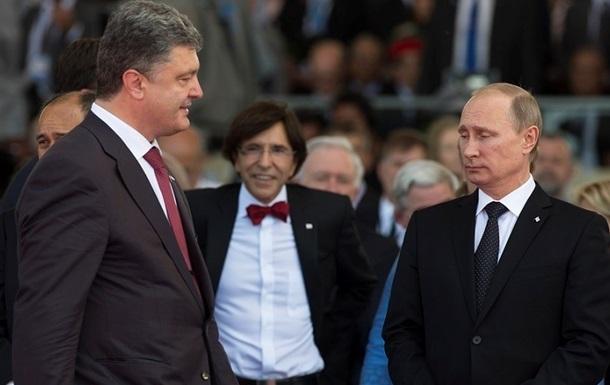 Порошенко по телефону рассказал Путину о плане по Юго-Востоку