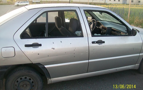 В Луганске обстреляли управление ГАИ