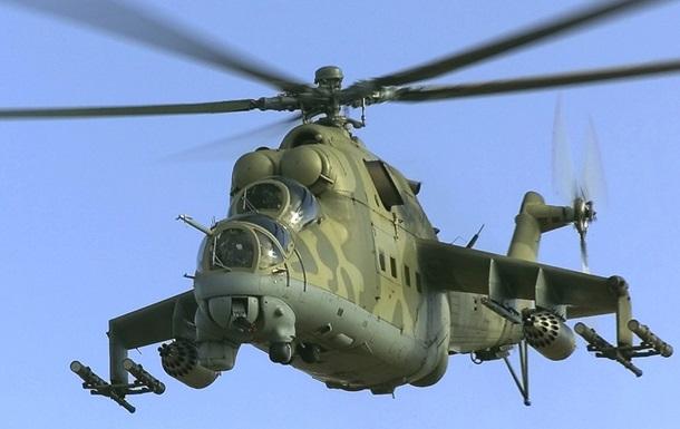 Российский военный вертолет нарушил воздушное пространство Украины - Селезнев