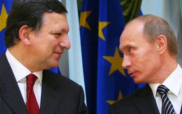 Баррозу и Путин договорились о трехсторонних консультациях в контексте подписания СА с Украиной