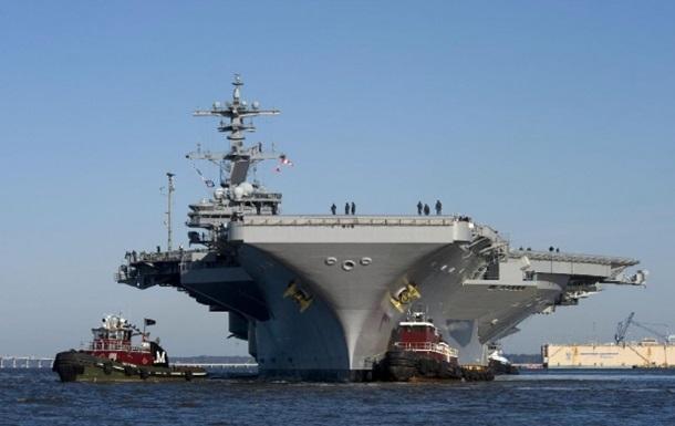 США направляют авианосец в Персидский залив