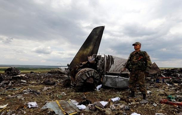 В ЛНР не исключают, что самолет Ил-76 был сбит украинскими военными