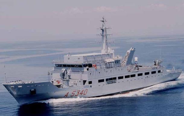 В Черное море вошел корабль-шпион ВМС Италии – СМИ