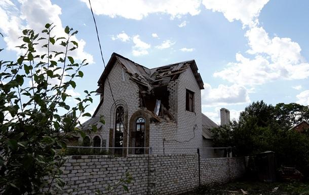Славянск после бомбежки - фоторепортаж