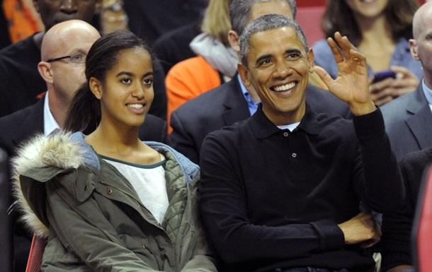Дочь Барака Обамы снимает сериал вместе со Стивеном Спилбергом