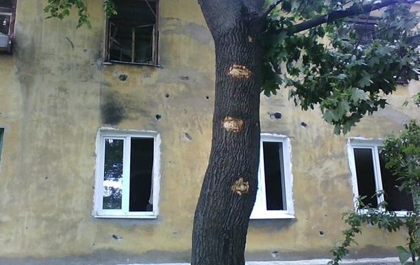 Война со школами и больницами. Фото блоггера Корреспондент.net из Краматорска