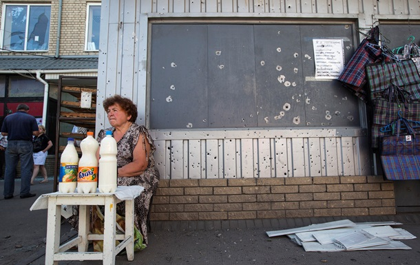Как выживают жители Славянска - фоторепортаж
