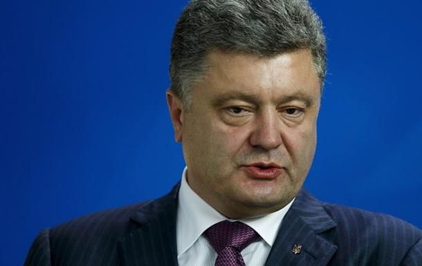 Порошенко проведет переговоры с законными представителями Донбасса