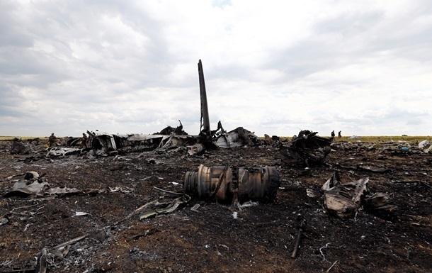 Тела погибших военных в результате крушения Ил-76 доставили в Днепропетровск - Селезнев