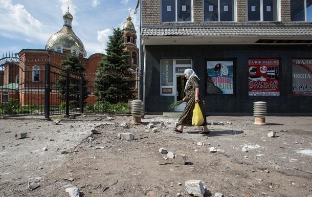 В Славянске обстреляли православный храм, погиб человек