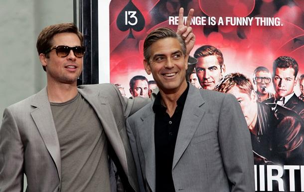 Джордж Клуни пригласил Брэда Питта быть шафером на его свадьбе