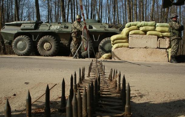 Украинские пограничники переводят систему логистики в боевые условия
