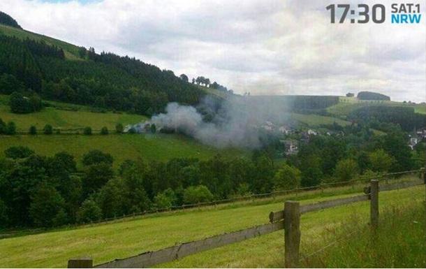 В Германии истребитель столкнулся с легкомоторным самолетом