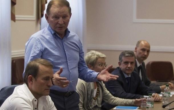 На переговорах в Донецке договорились о прекращении огня - Кучма