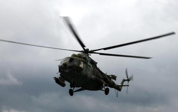 На борту сбитого вертолета находились трое офицеров СБУ - Розмазнин