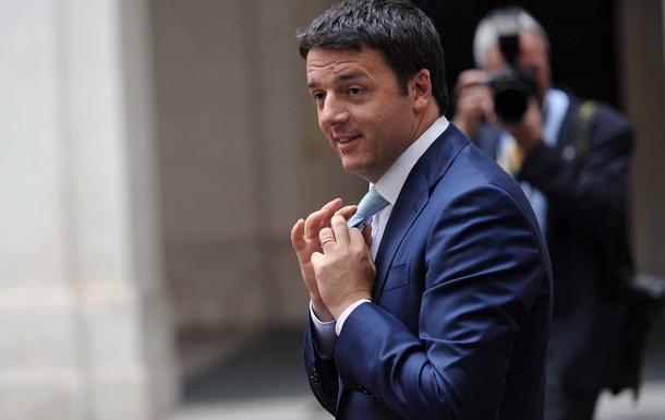 Армани раскритиковал стиль премьер-министра Италии