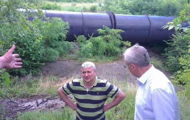 Канал Северский Донец-Донбасс наполняют водой
