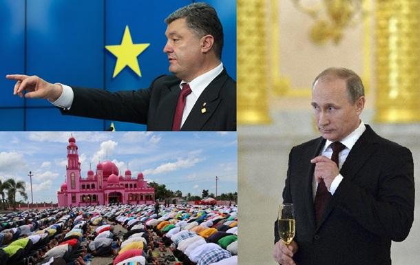 Ассоциация Украина-ЕС и начало Рамадана: главные фото 27 июня