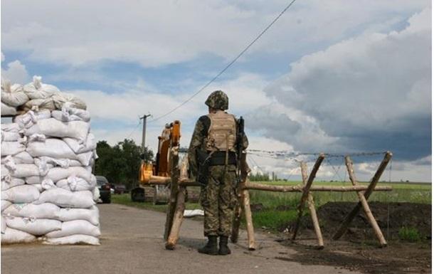 На охрану границы в Донбассе отправились два спецбатальона и шесть БРДМ из Харькова