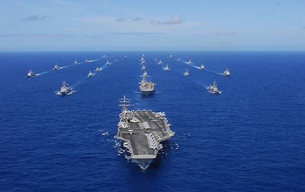 В США начались крупнейшие в мире военно-морские учения