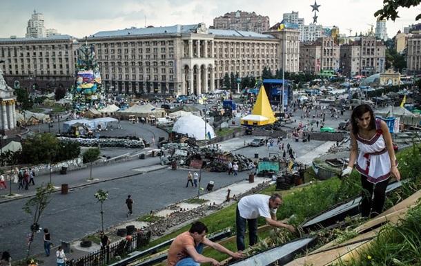 В центре Киева на баррикадах нашли мины-растяжки