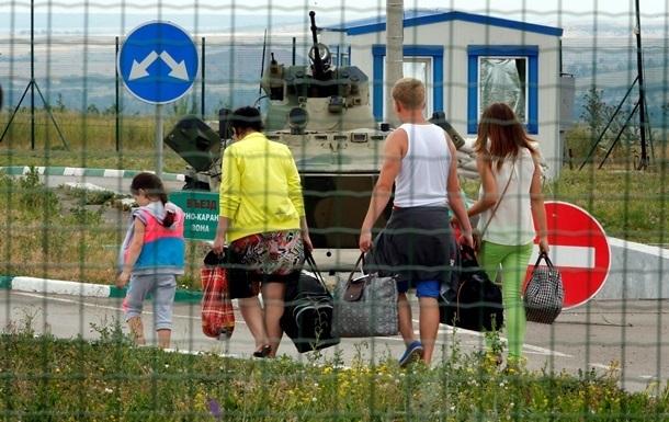 Россия возобновила работу двух пунктов пропуска на границе с Украиной