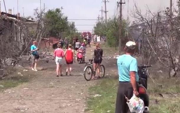 В результате обстрела Кондрашовки погибли мирные жители - Life News