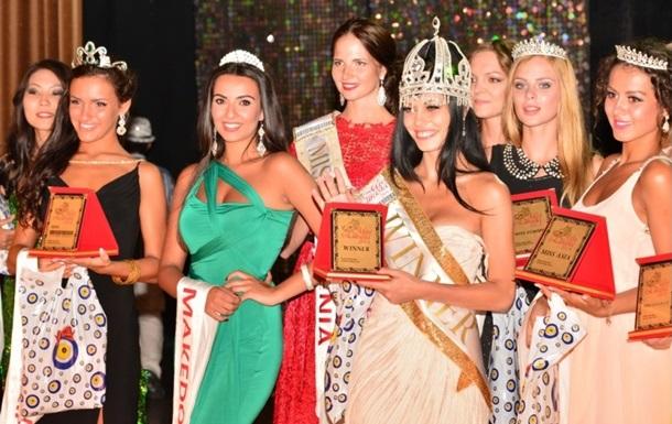 Украинка получила титул Мисс Европа на конкурсе красоты Мисс Евразия-2014