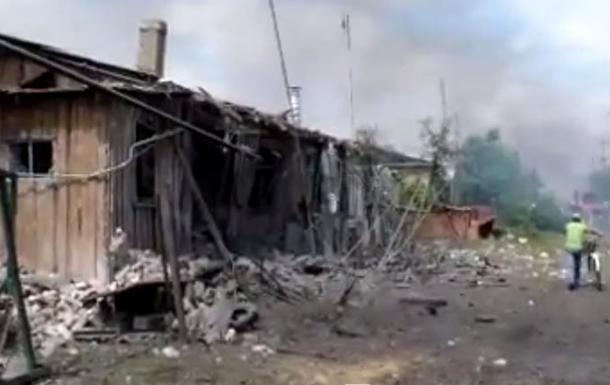 Станицу Луганскую обстреляли сепаратисты, есть жертвы – центр АТО