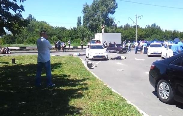 В Донецке напали на патруль ГАИ: трое погибших