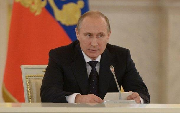 Путин считает  своевременной  борьбу с нацизмом