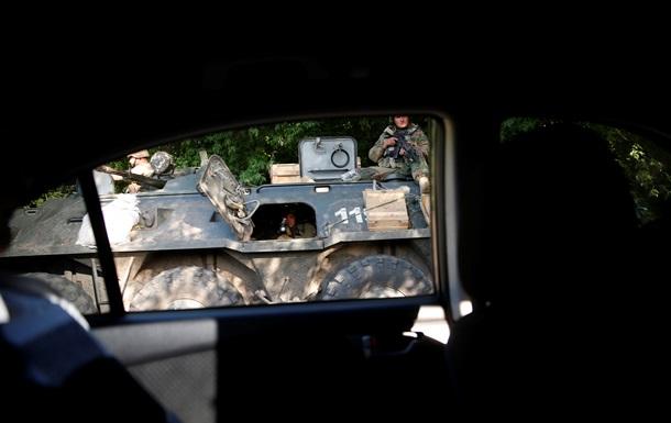 Николаевка не взята: силы АТО ведут бои вокруг поселка