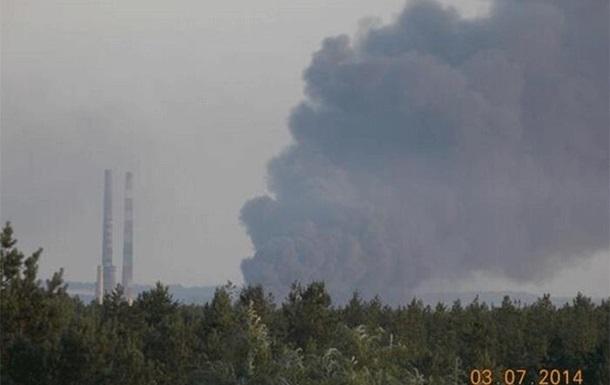 Из-за боевых действий эвакуированы все работники Славянской ТЭС