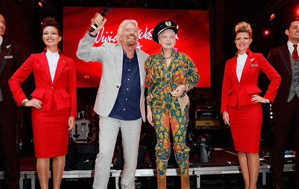Вивьен Вествуд создала  самую сексуальную в мире  форму для стюардесс