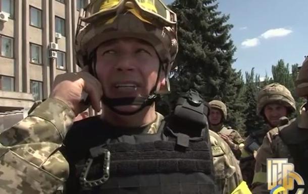 Славянск: Докладывает министр обороны Гелетей - видео