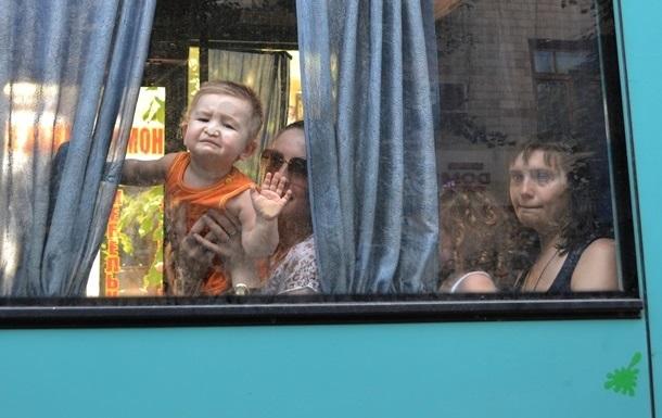 С начала АТО из Донбасса эвакуировано более 36 тысяч человек