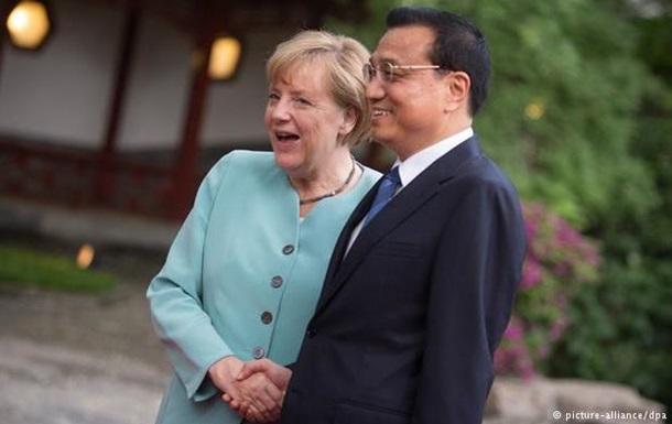 Германия намерена развивать деловые связи с Китаем
