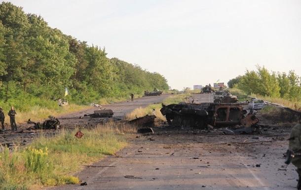 Ядро колонны сепаратистов, бежавших из Славянска, было уничтожено - Гелетей