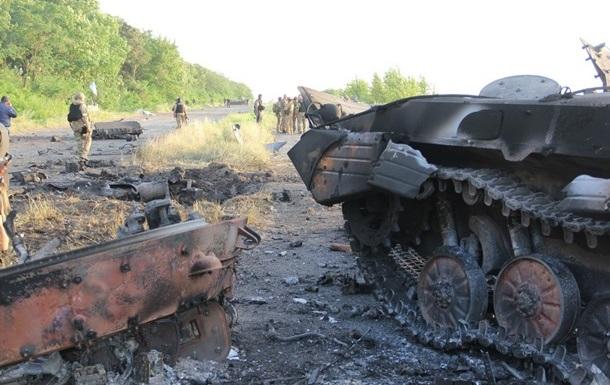 Отступая из Славянска, Стрелков потерял семь единиц бронетехники