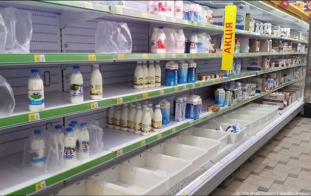 В Крыму временно сняли запрет на товары из материковой Украины