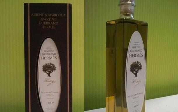 Hermès выпустил оливковое масло с золотом