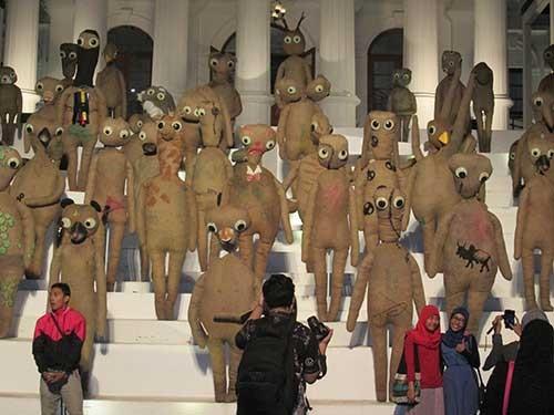 Виставка сучасного мистецтва в Джоджакарті, Індонезія