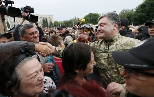 Порошенко готов к переговорам с металлургами и шахтерами Донбасса