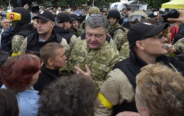К приезду Порошенко в Славянске готовили теракт - пресс-секретарь